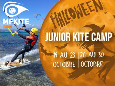 junior camp kitesurf octobre