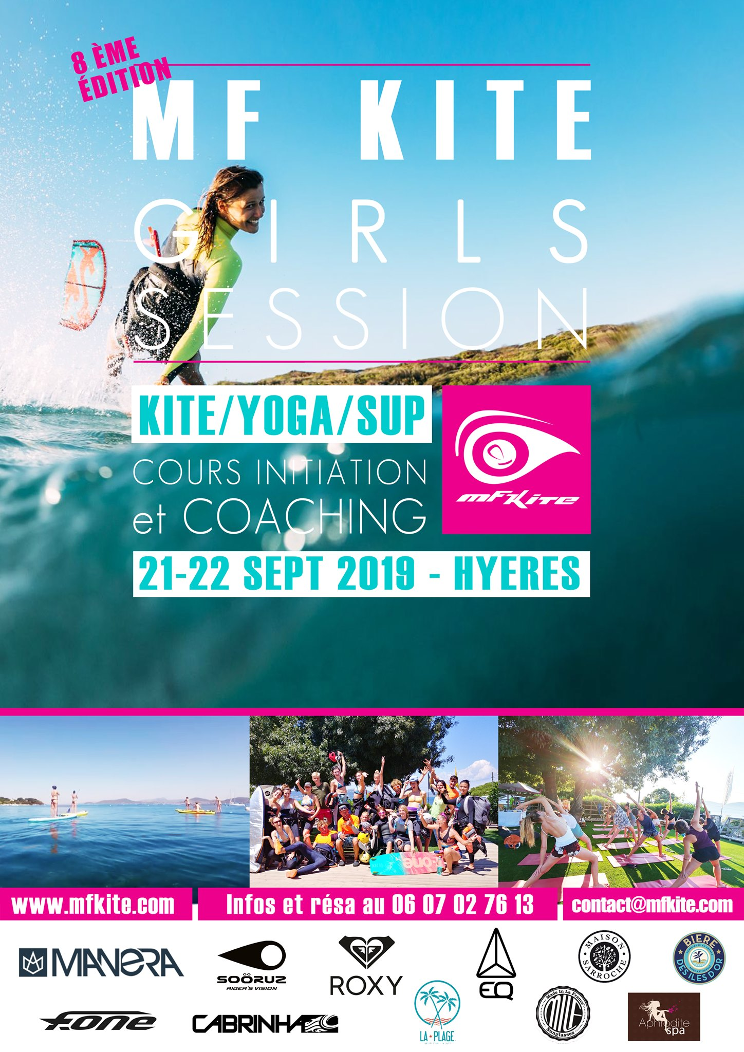 Girls Session Kitesurf
