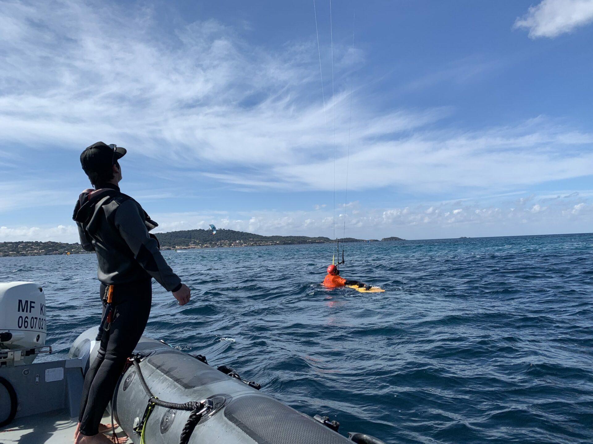 dépose en mer